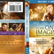 I Can Only Imagine (2018) R1 Blu-Ray Cover