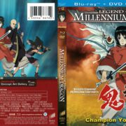 Legend of the Millennium Dragon (2011) R1 Blu-Ray Cover