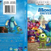 Monsters University (2013) R1 Blu-Ray Cover