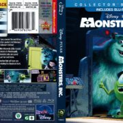 Monsters, Inc (2013) R1 Blu-Ray Cover