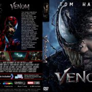 Venom (2018) R1 CUSTOM DVD Cover & Label
