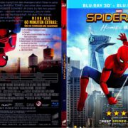 Spider-Man: Homecoming 3D (2017) R2 German Slim Blu-Ray Cover