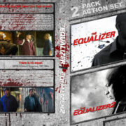 The Equalizer Double Feature (2014-2018) R1 Custom Blu-Ray Cover