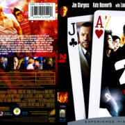 21 (2008) R1 Blu-Ray Cover