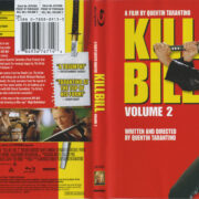 Kill Bill: Volume 2 (2008) R1 Blu-Ray Cover & Label