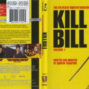 Kill Bill: Volume 1 (2008) R1 Blu-Ray Cover & Label
