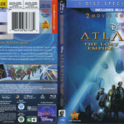 Atlantis: The Lost Empire and Milo's Return (2013) R1 Blu-Ray Cover & Labels