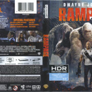 Rampage (2018) R1 4K UHD Cover & Labels