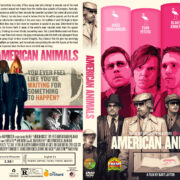 American Animals (2018) R1 Custom DVD Cover