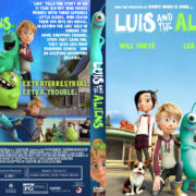 Luis & the Aliens (2018) R1 Custom DVD Cover