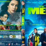 The Meg (2018) R1 Custom DVD Cover