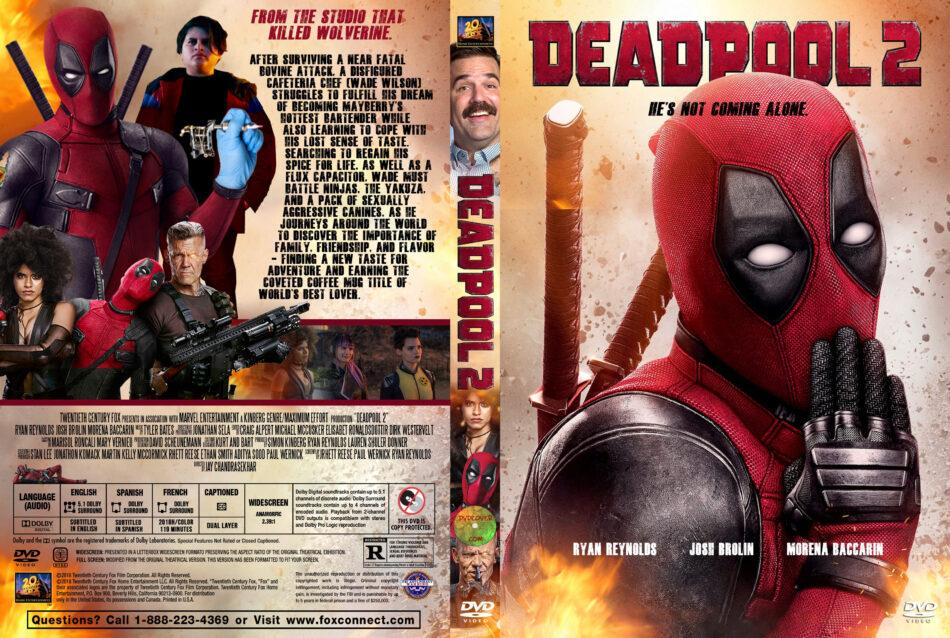 Deadpool 2 2018 R1 Custom Dvd Covers Dvdcover Com