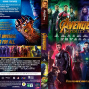 Avengers: Infinity War (2018) R1 Custom DVD Cover