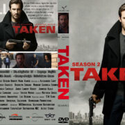 Taken: Season 2 (2018) R0 Custom DVD Cover
