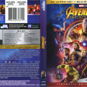 Avengers: Infinity War (2018) R1 4K UHD Cover & Labels