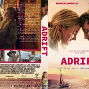 Adrift (2018) R1 Custom DVD Cover