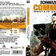 Commando Montaje Del Director (1985) Spanish Blu-Ray Cover