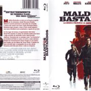 Malditos Bastardos (2009) Spanish Blu-Ray Cover