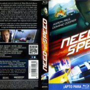 Need For Speed 3D (2014) Spanish Blu-Ray Cover