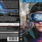 Ready Player One 3D (2018) Spanish Blu-Ray Cover