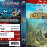 Black Panther 3D (2018) Spanish Blu-Ray Cover