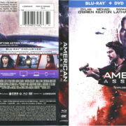 American Assassin (2017) R1 Blu-Ray Cover & Labels
