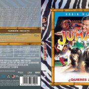 Jumanji (2011) Spanish Blu-Ray Cover
