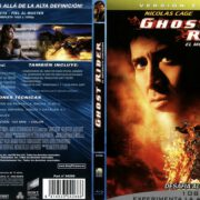 Ghost Rider El Motorista Fantasma Version Extendida (2007) Spanish Blu-Ray Cover