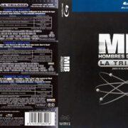 Hombre De Negro La Trilogia (2012) Spanish Blu-Ray Cover