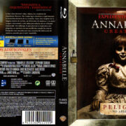 Annabelle Creation (2017) Spanish Blu-Ray Cover