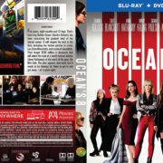 Ocean's Eight (2018) Blu-Ray Cover & Label