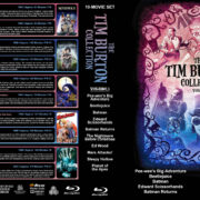 The Tim Burton Collection (10) – Volume 1 (1985-2001) R1 Custom Blu-Ray Cover