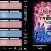 The Tim Burton Collection (5) – Volume 1 (1985-1992) R1 Custom Blu-Ray Cover
