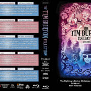 The Tim Burton Collection (5) – Volume 2 (1993-2001) R1 Custom Blu-Ray Cover