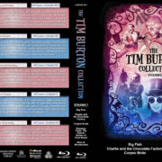 The Tim Burton Collection (5) – Volume 3 (2003-2010) R1 Custom Blu-Ray Cover