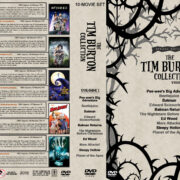The Tim Burton Collection (10) – Volume 1 (1985-2001) R1 Custom DVD Cover