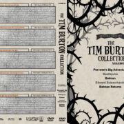The Tim Burton Collection (5) – Volume 1 (1985-1992) R1 Custom DVD Cover
