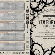 The Tim Burton Collection (5) – Volume 3 (2003-2010) R1 Custom DVD Cover