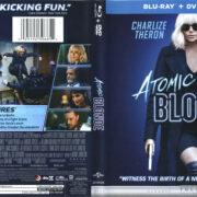 Atomic Blonde (2017) R1 Blu-Ray Cover & Labels