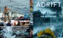 Adrift (2018) Custom DVD Cover