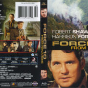 Force 10 From Navarone (1978) R1 Blu-Ray Cover & Label