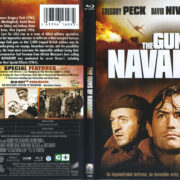 The Guns Of Navarone (1961) R1 Blu-Ray Cover & Label