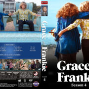 Grace and Frankie – Season 4 (2018) R1 Custom DVD Cover & Labels