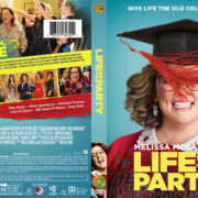 Life Of The Party (2018) R1 Custom DVD Cover