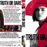 Truth or Dare (2018) R1 Custom DVD Cover