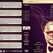 Martin Scorsese Collection – Set 3 (1991-2002) R1 Custom DVD Covers
