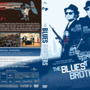 The Blues Brothers (1980) R1 Custom DVD Cover & Label
