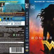 Wonder Woman 3D (2017) Spanish Blu-Ray Cover