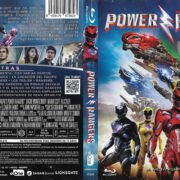 Power Rangers (2017) Spanish Blu-Ray Cover