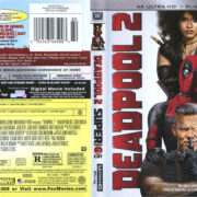 Deadpool 2 (2018) R1 4K UHD Blu-Ray Cover & Labels